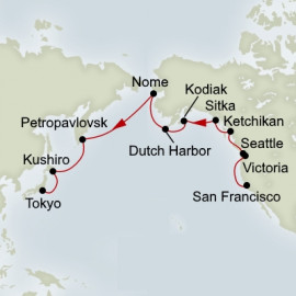 EXC In-Depth Northern Pacific Adventurer Itinerary