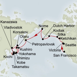 EXC In-Depth Ultimate Alaska and North Pacific Adventure  Itinerary
