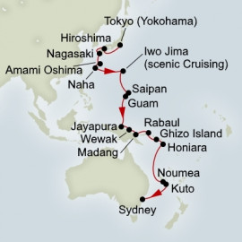EXC In-Depth Legends of The Pacific Holland America Line Cruise