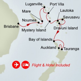 Fly Cruise Holiday Pacific Odyssey Itinerary