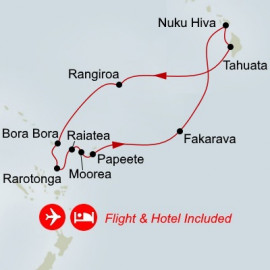 Fly Cruise Holiday Polynesian Idyll Itinerary