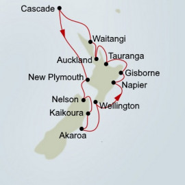 EXC In-Depth New Zealand Navigator Itinerary