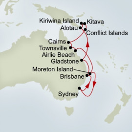 EXC In-Depth Australia and Melanesia Holland America Line Cruise