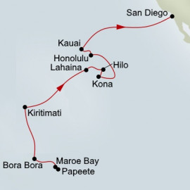 South Pacific Crossing and Hawaii Holland America Line Cruise