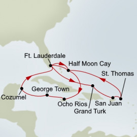 Western and Eastern Caribbean Holiday Holland America Line Cruise