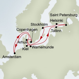 Jewels Of The Baltic Holland America Line Cruise