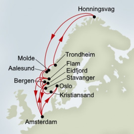 Viking Sagas and Midnight Sun Holland America Line Cruise