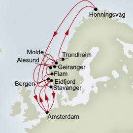 Midnight Sun and Norse Legends Holland America Line Cruise