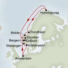 Voyage Of The Midnight Sun Holland America Line Cruise