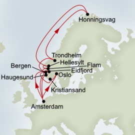 Viking Sagas and Midnight Sun Itinerary