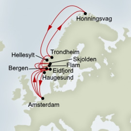 Midnight Sun and Norse Legends Itinerary