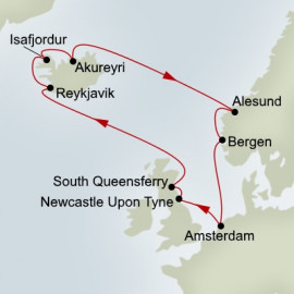 Northern Isles Holland America Line Cruise