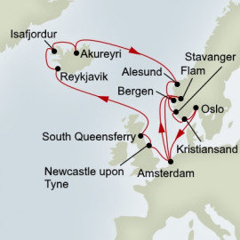 Northern Isles and Viking Sagas Holland America Line Cruise