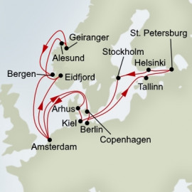 Baltic Jewels and Norwegian Fjords Holland America Line Cruise