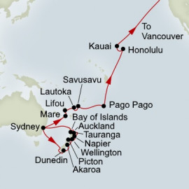 New Zealand and South Pacific Crossing Collector