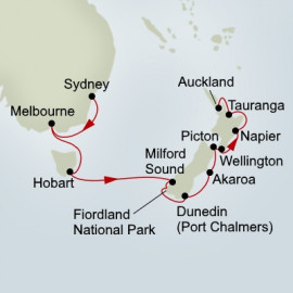 Australia and New Zealand Itinerary