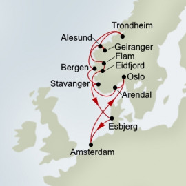 Norwegian Fjords Explorer Holland America Line Cruise