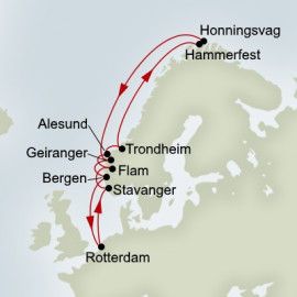 North Cape Itinerary