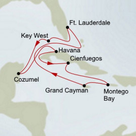 Cuba and Western Caribbean Holland America Line Cruise
