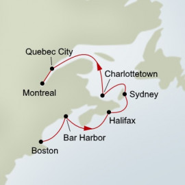 Canada and New England Holland America Line Cruise