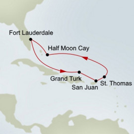 Eastern Caribbean Holiday Holland America Line Cruise