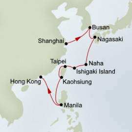 Asia Itinerary