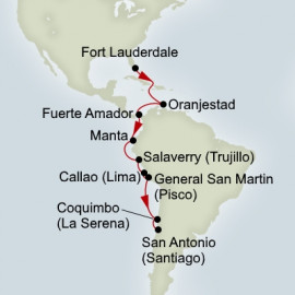 Inca And Panama Canal Discovery Itinerary