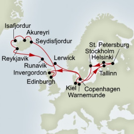 Baltic and Northern Isles Enchantment Holland America Line Cruise