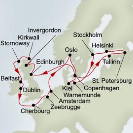 Fjords Highlands And Baltic Adventure Itinerary