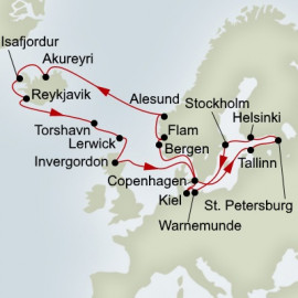 Baltic and Northern Isles Enchantment Itinerary