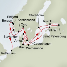 Jewels Of The Baltic and Viking Sagas Holland America Line Cruise