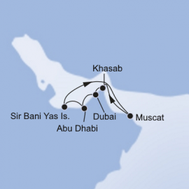 Dubai Abu Dhabi and India Itinerary