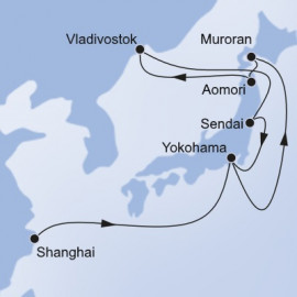 China Japan Russian Federation Itinerary