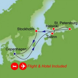 Fly Hotel Cruise Holiday Northern Europe
