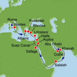 Greece Israel and Egypt Itinerary