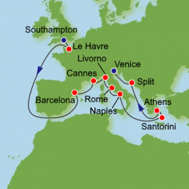 European Jewels Itinerary