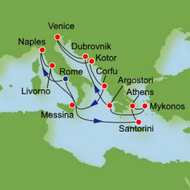 Mediterranean Delights Itinerary