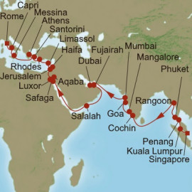 Sacred Sojourn Itinerary