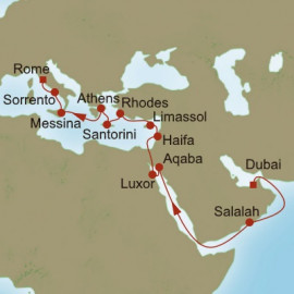 Empires of Antiquity Itinerary