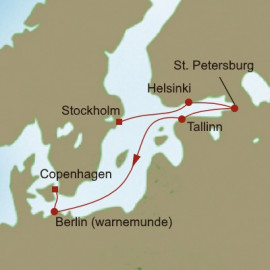 Baltic Marvels Itinerary