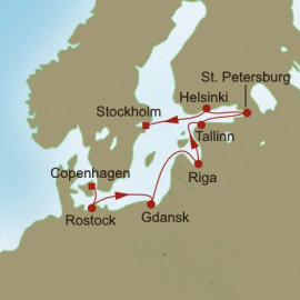 Vikings and Monarchs Itinerary