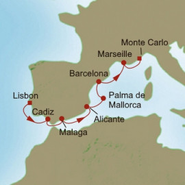 Iberian Quest Itinerary