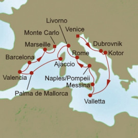 Waterways of Wonder Itinerary