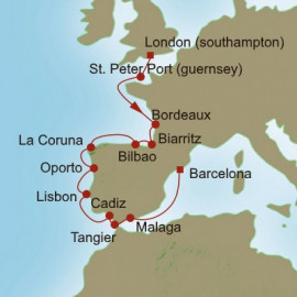 European Bouquet Oceania Cruises Cruise
