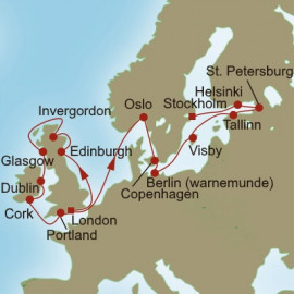 Castles to Classics Itinerary