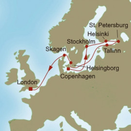 Nordic Knights Itinerary