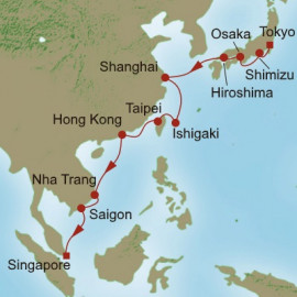 Eastern Revelations Itinerary