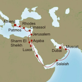 Passage through time Oceania Cruises Cruise