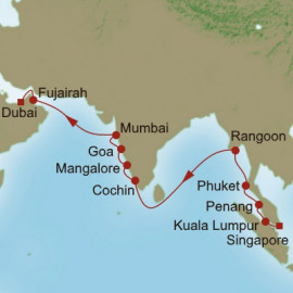 Far East Mystique Oceania Cruises Cruise