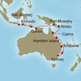 Gold Coast and Beyond Oceania Cruises Cruise